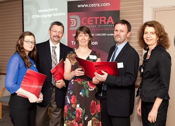 CETRA management and staff at 2012 CETRA Ireland grand opening in Limerick.