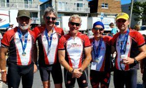 Team CETRA at Bike MS 2019